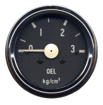 Öldruckmanometer, mechanisch, Unimog-Design