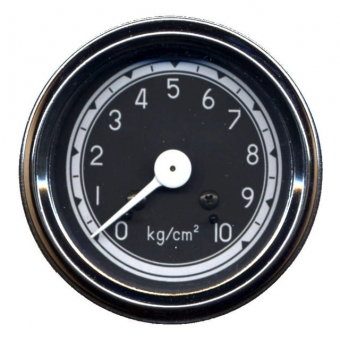 Öldruckmanometer, mechanisch, 0-10 bar