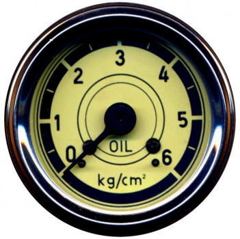 Öldruckmanometer, mechanisch, 0-6 bar