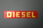Holder Schild Diesel